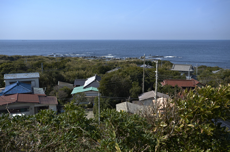 pacific ocean: I hope the Pacific Ocean from Shunosaki lighthouse