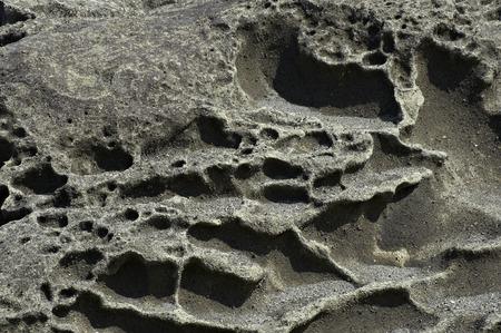 sandstone: Modeling of sandstone Stock Photo