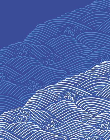 Japanese pattern Reklamní fotografie