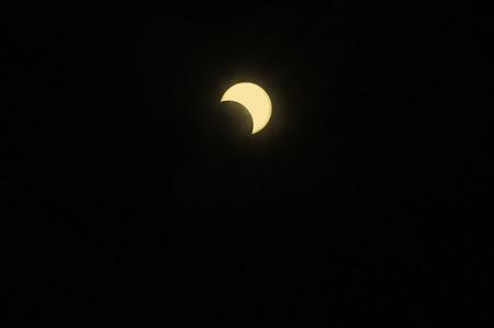 solar eclipse: Ends with annular solar eclipse 08:17:44 mark 13