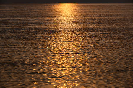 hojo: Sunset reflected on the loose and the Surf
