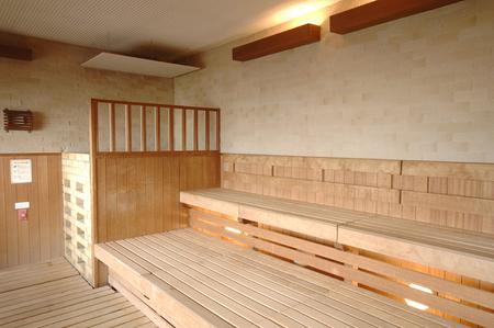bath: Sauna bath