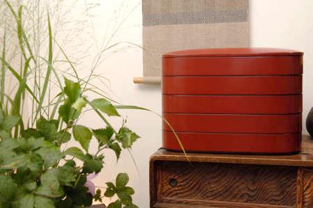 lacquerware: Kanazawa painted image Stock Photo