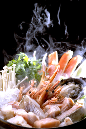 crab pots: Seafood hotpot