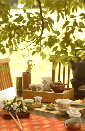 manners: Manners of Chinese tea