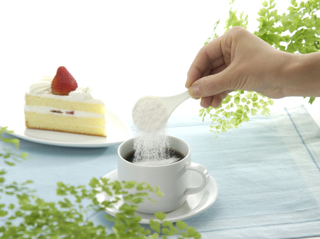glucosamine: The supplement to coffee Stock Photo