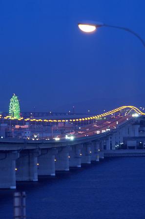 night highway: Night Highway Stock Photo