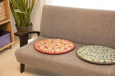 rush: Rush cushion