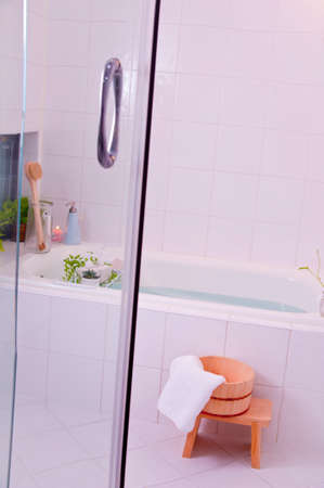 bath additive: Basubomu image Stock Photo