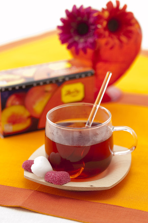fruitschaal: Fruit tea