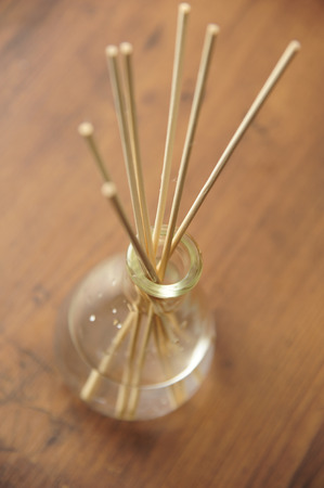 air diffuser: Reed diffuser Stock Photo