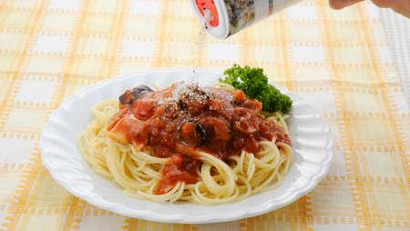 rock salt: The rock salt to pasta
