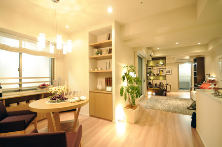 Large living dining