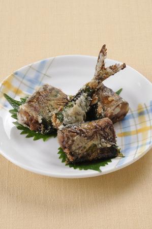 pike: Tatsuta fried pike