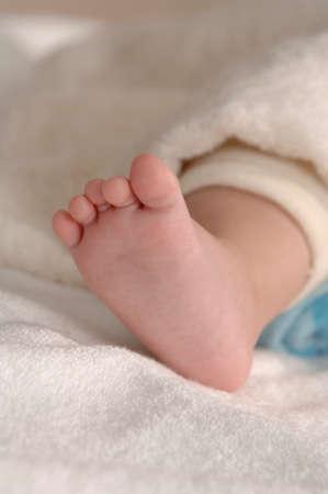 bath towel man: Baby legs