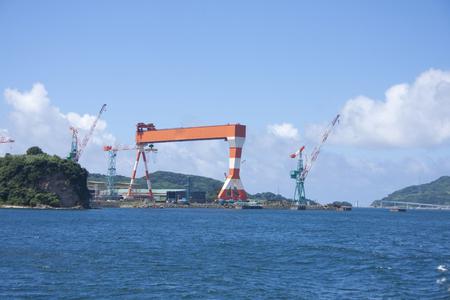 shipyard: Shipyard Stock Photo