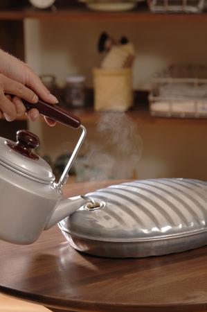 hottie: Put hot water of hot water bottle