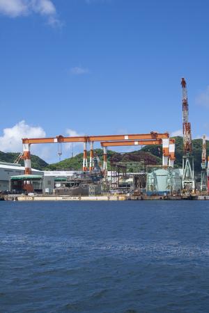 shipyard: Port of Nagasaki shipyard  machinery works