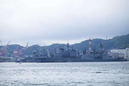 base: Maritime Self-Defense Force Sasebo base Stock Photo
