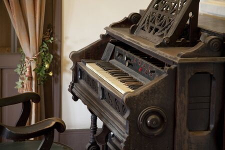 house with style: Of the old ringer house organ Stock Photo