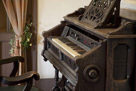 ringer: Of the old ringer house organ Stock Photo