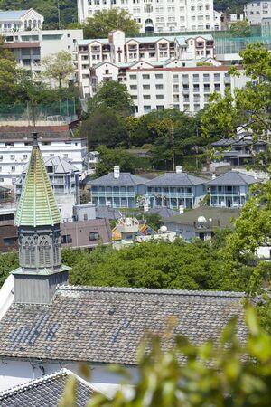 church group: Oura Catholic Church and Higashiyamate Western-style housing group