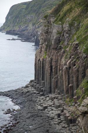 columnar: Columnar joints of Shiotawara cliff