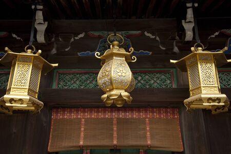 artefacts: Kitano Tenman-gu shrine garden lantern