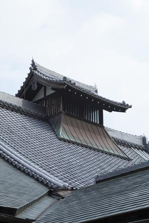 hojo: Tenryu-ji of large Hojo roof