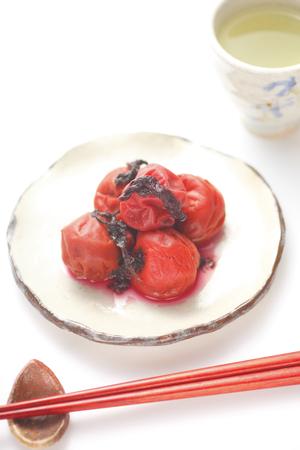 preservative: Plum and Japanese tea
