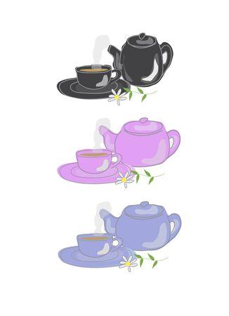 컵 받침 접시