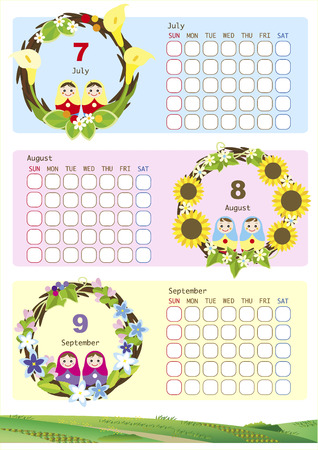 calendar template: Calendar template
