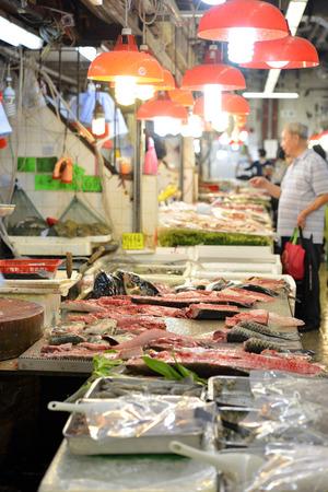 coulomb: Hong Kong fish market