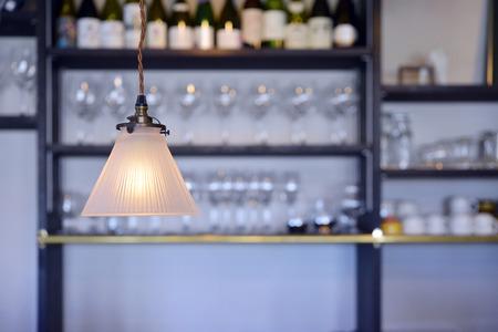 luminaire: Bar of the luminaire Stock Photo