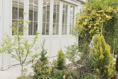 wintergarten: Conservatory Garten
