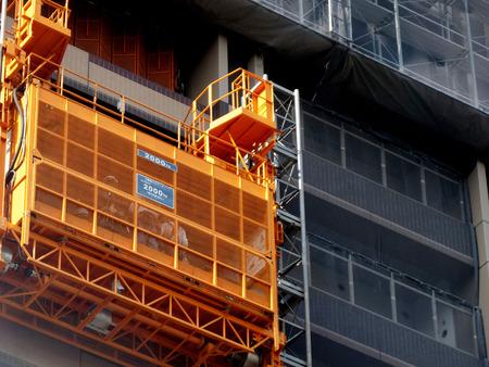 工事用エレベーター