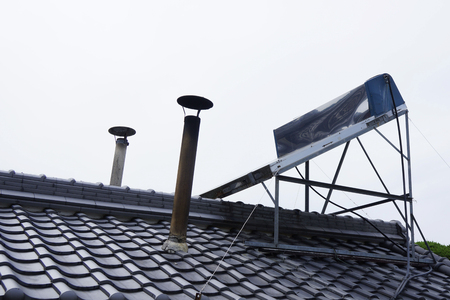 solar thermal: Water heater of solar thermal