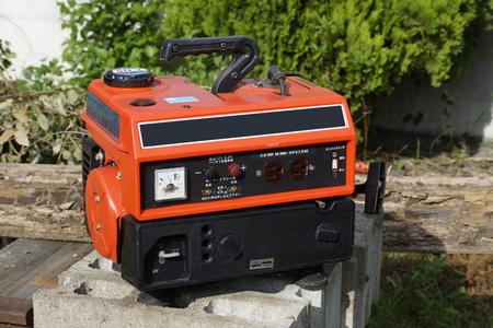 generator: Emergency generator Stock Photo