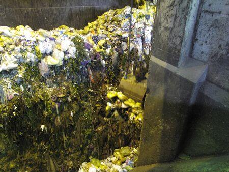 公共廃棄物処理プラント 写真素材