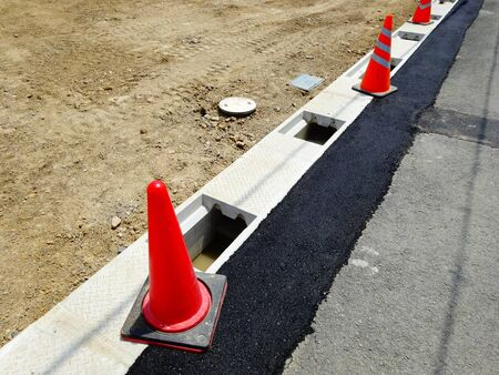 residential construction: Outside the residential area construction