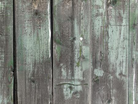 depreciation: Board wall that was decrepit