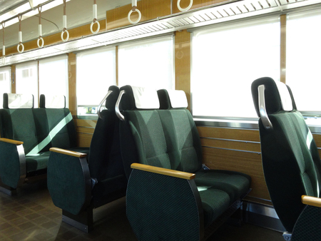 commuter train: Chair of the commuter train