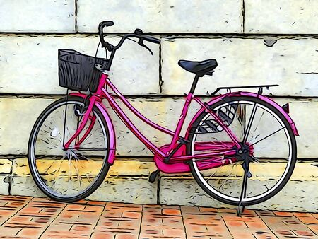 tone: Illustration tone bicycle
