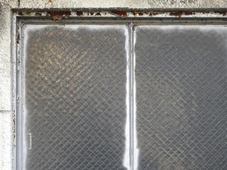 sash: Window of the old Steel sash
