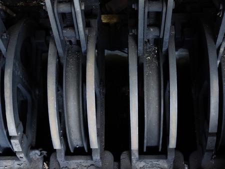 palanca: Punto de la palanca de conmutaci�n de ferrocarril Ferrocarril
