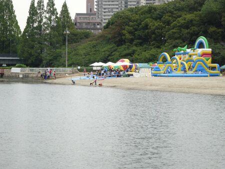 poblacion: Población parque acuático de arena