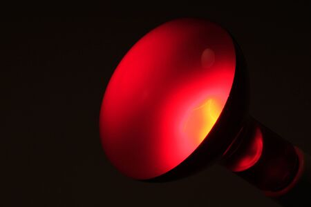 infrared: Infrared lamp
