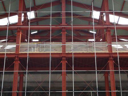 steel building: Steel building
