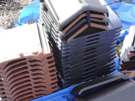 materials: Roof tiles of new building materials