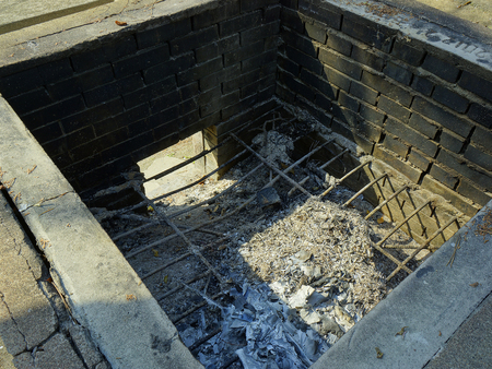 incinerator: Open-air incinerator and refractory brick